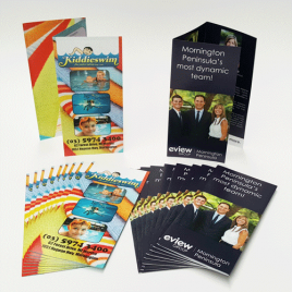 DL Brochures (A4 Folded to DL)